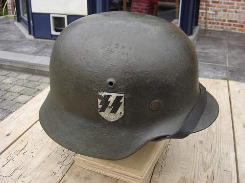 Doubts about M35 SD SS helmet. Or not?