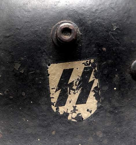 M16 Black DD SS helmet