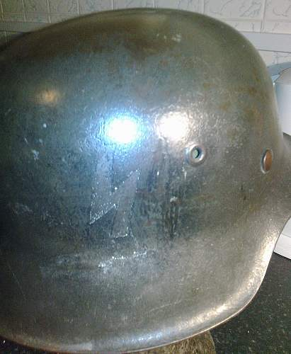 Who can   identify this german  helmet!