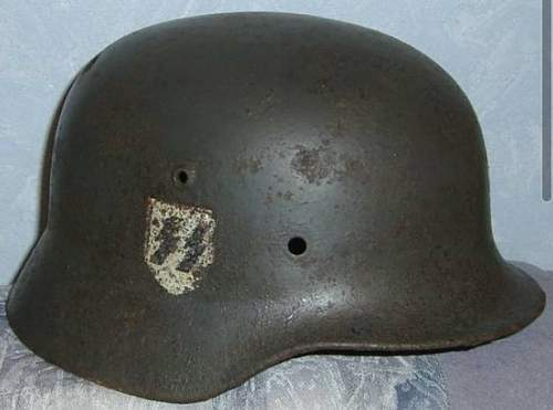 Real or Fake SS helmet shell