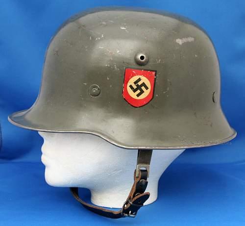 Click image for larger version.  Name:M-34 Medium Duty Helmet.jpg Views:157 Size:195.7 KB ID:520396
