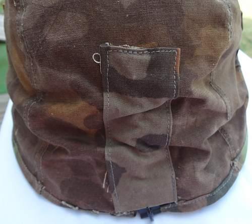 Waffen SS first model helmet cover