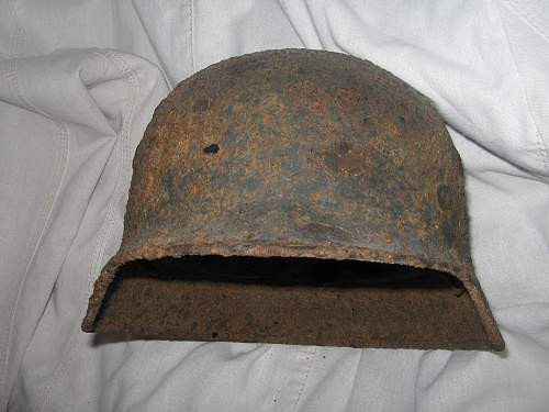 SD M35 helmet from  - SS rgt. General Seyffardt (23-th SS div. Nederland)