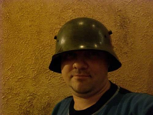 My SS M18 helmet