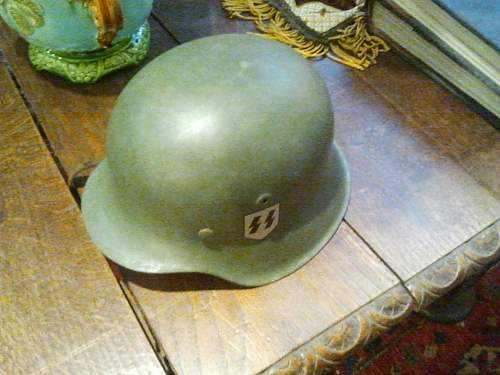 This helmet has been offered to me for sale, what do you think?