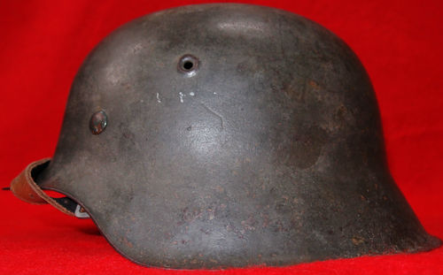 SS M42 SINGLE DECAL COMBAT HELMET Good /Bad?