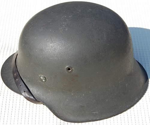 German nazi helmet (Fake or real?)