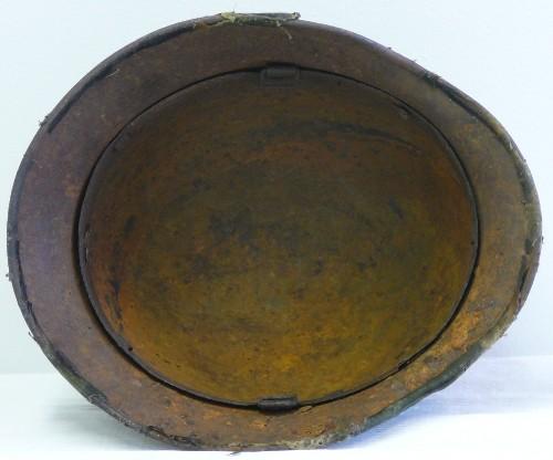 Relic stahlhelm with camo cover