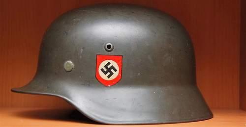 M35 SS dd helmet - subtle camo?
