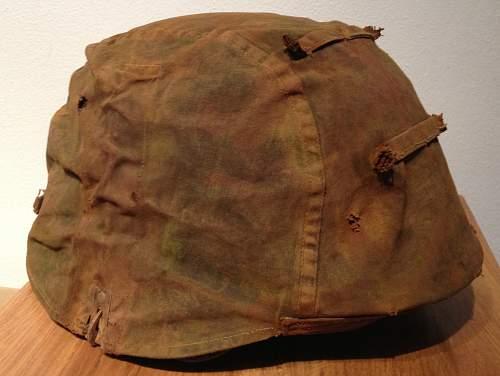 SS helmet cover, original or repro?