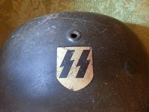 Single Decal SS helmet I obtained.