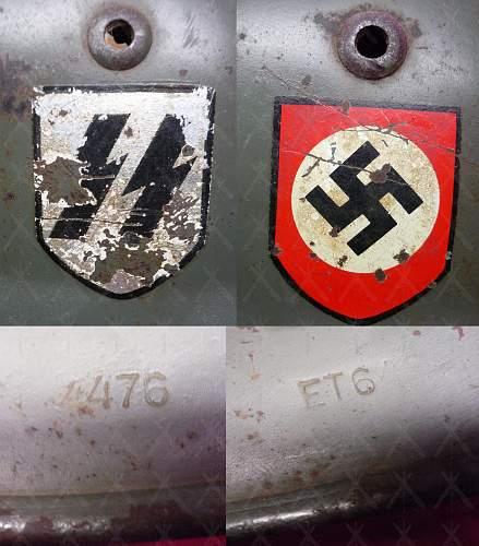 SS Helmet is it or isn't it? (Thank you)