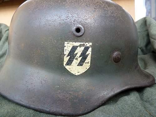 SS helmet, original? Need help