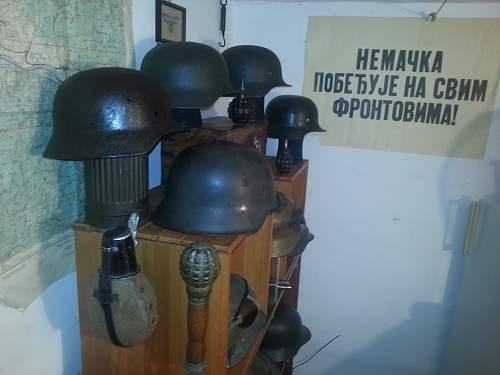 M40 SS ?? found in a Serbian village