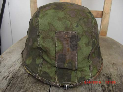 Opinion on SS helmet camo cover