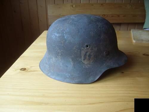 SS M42 helmet.. Original? :)