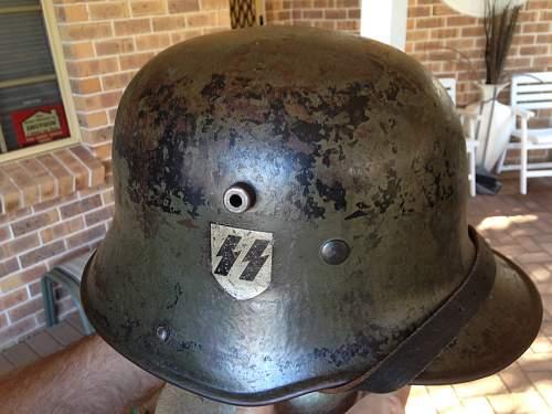 Waffen SS DD Helmet - Opinions?