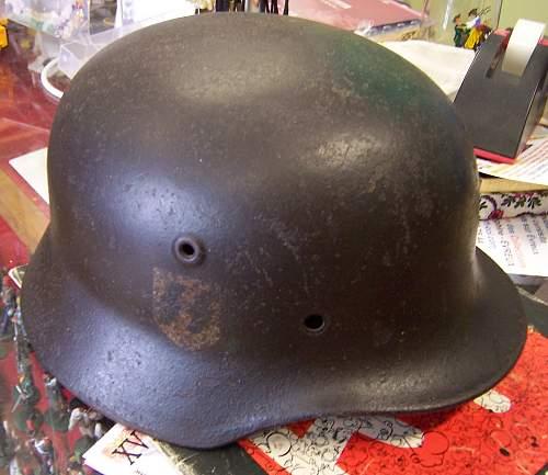 Helmet from Normandy