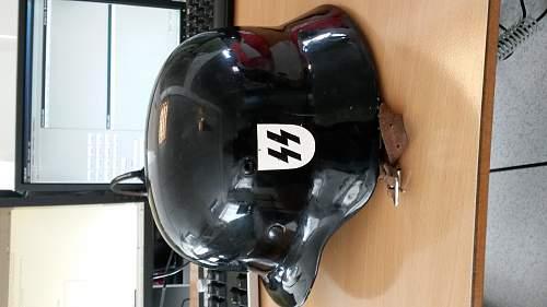 German Helmet SS