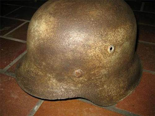 M42 -SS Wintertarn Helmet - Real?