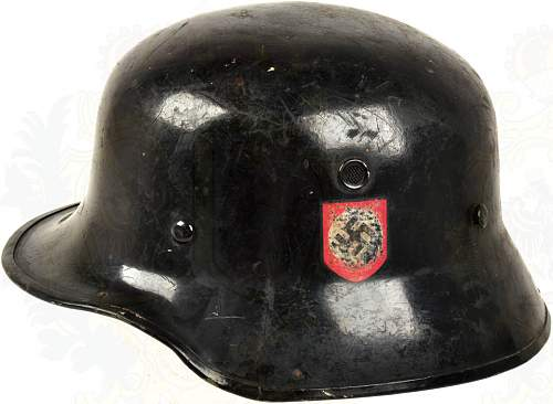 Is this a real SS parade helmet?