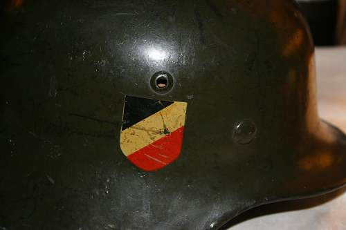 I inherited a NS62 German Helmet - Can anyone tell me what I have?