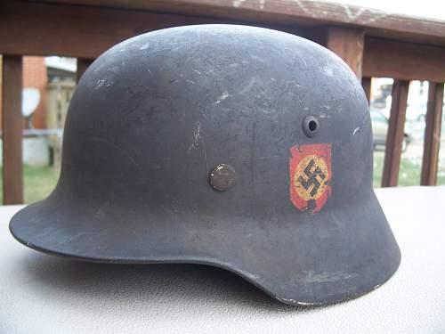 Real waffen ss helmet?
