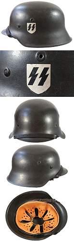 Foreign SS Helmet