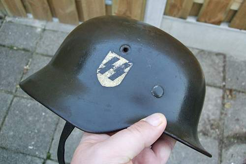 What the...! SS Helmet.