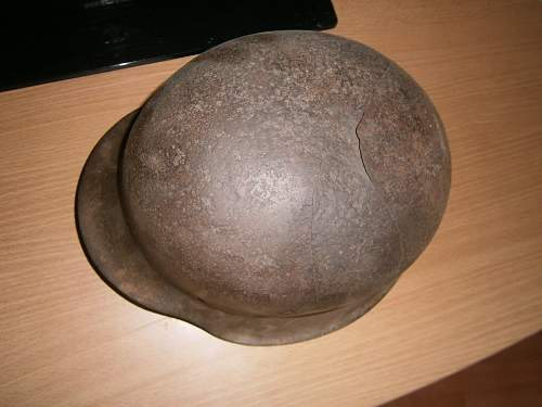 Courland Pocket SS Helmet... fair price for condition? 00