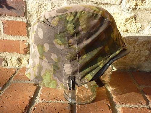 Waffen SS Helmet Cover for Review