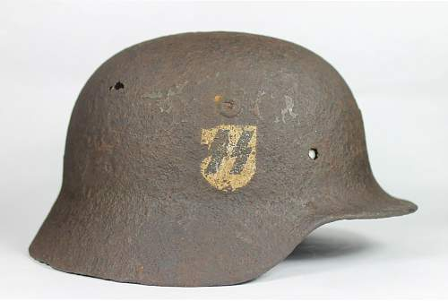 Thoughts on this relic SS helmet?