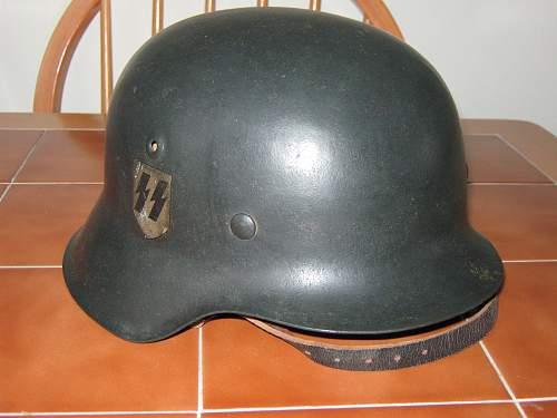 Two ss helmets?