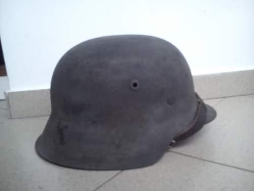 m 42 SS helmet?opinion needed