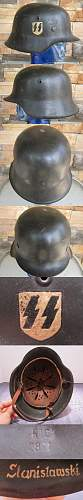 named m42 sd ss combat helmet