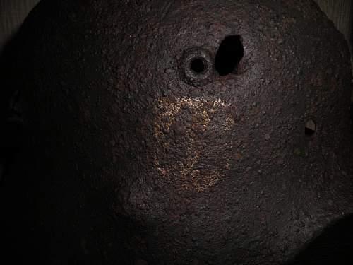 Original SS decal on relic helmet ?