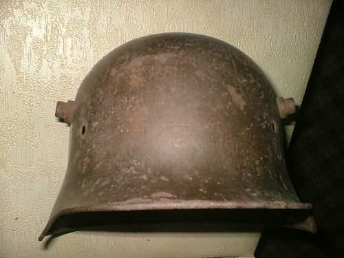 SS M17 helmet