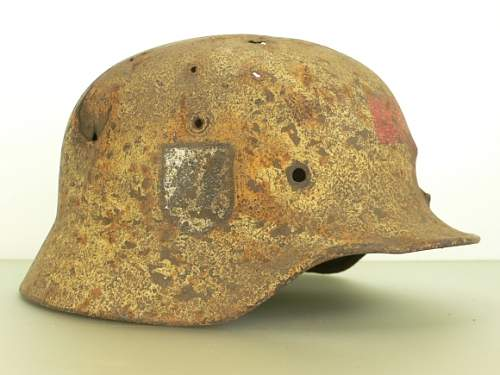SS Medic relic helmet