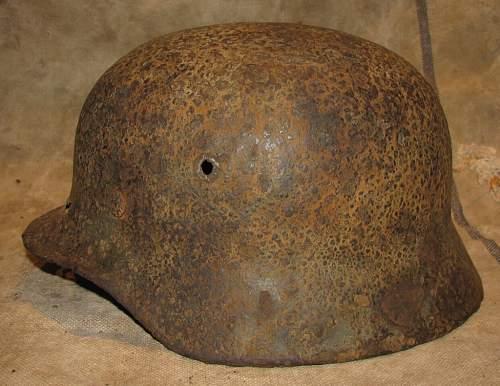 M40 Single decal SS Helmet