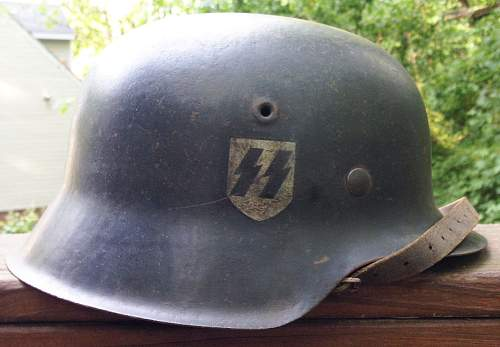 Need some opinions on this SS helmet...