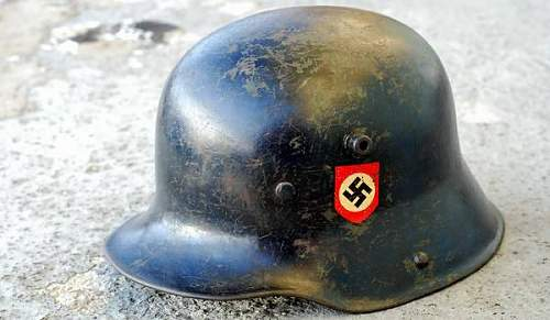 Waffen SS M18 Helmet Authentic?