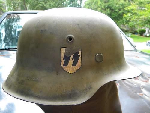 CKL Early green gray M42 SS DD helmet?