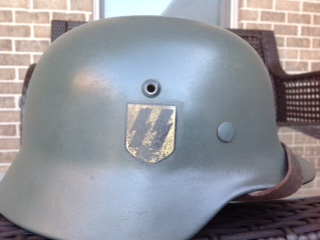 """would a M35 SS DD ever have a """"RZM"""" stamped chinstrap?"""