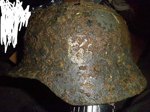 Could this be a relic SS helmet?