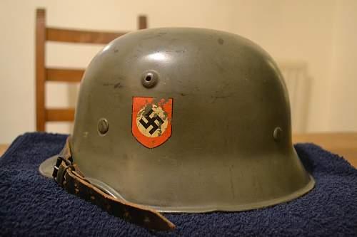 M34 SS DD Thale-Stahl helmet
