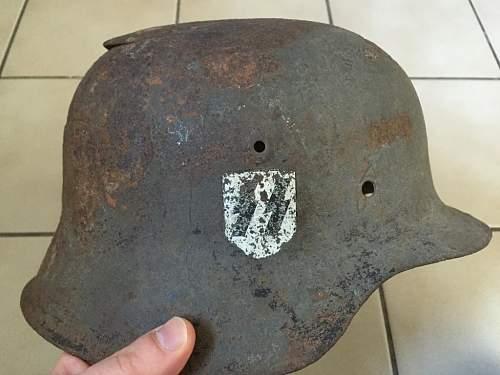 SS Helmet need help