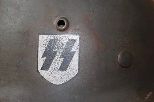 M40 Helmet Waffen SS