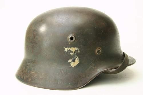 Waffen SS Helmet