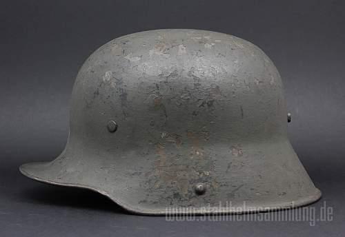 Ventless M16 field grey - former SS - former SA
