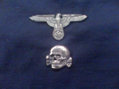 Matching M1/52 eagle and skull, original?